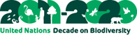 国連生物多様性の10年ロゴマーク
